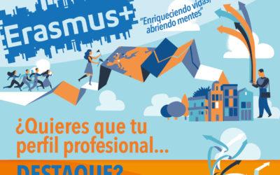 Becas Erasmus+ de prácticas para quienes cursan certificados de profesionalidad